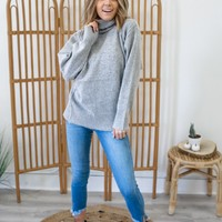 Come To Town Sweater - Heather Grey