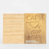 Carve Your Own Postcard- Assorted One