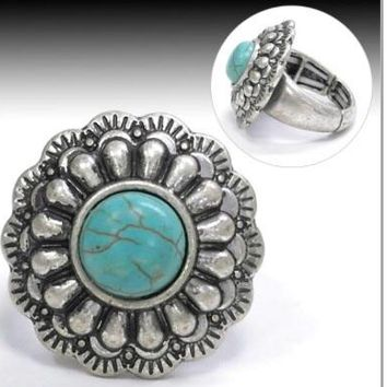 Turquoise Stretch Ring
