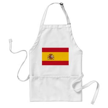 Apron with Flag of Spain