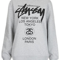 Multi Logo Sweat By Stussy - Tops  - Clothing
