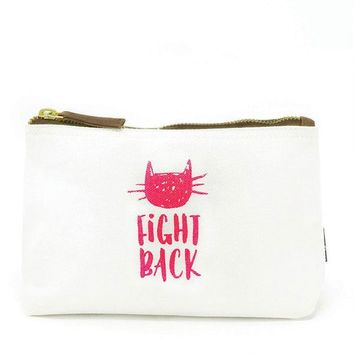 "Travel Pouch - ""Pussy Fight Back"""