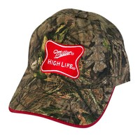 Miller High Life Adjustable Camo Hat | WearYourBeer.com