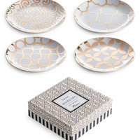 'Luxe Moderne' Appetizer Plates (Set of 4)