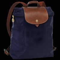 Backpack - Le Pliage - Bags - Longchamp - Navy - Longchamp United-States