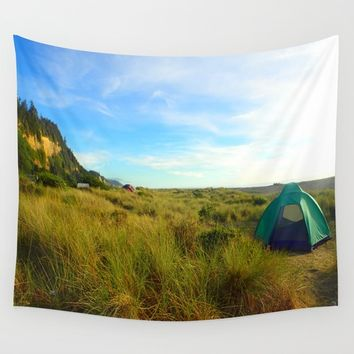 Gold Bluffs Beach Wall Tapestry by Lindsey Jennings Photography