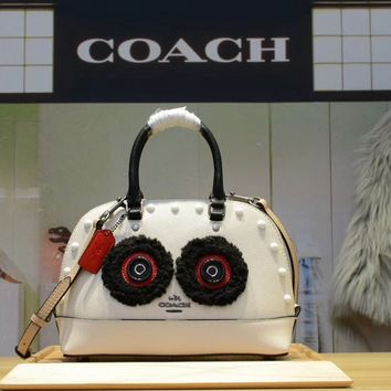 COACH WOMEN'S NEW STYLE LEATHER BB HANDBAG SHOULDER BAG