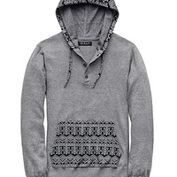 Hooded Fair Isle Sweater