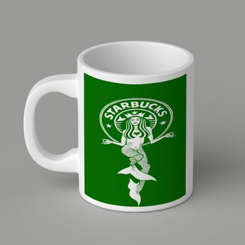Gift Mugs | Green Starbuck Coffee Logo Ceramic Coffee Mugs