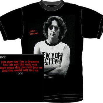 John Lennon T-Shirt - New York City