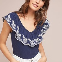 Julieta Ruffled Top