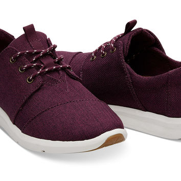 BLACK CHERRY POLY WOMEN'S DEL REY SNEAKERS