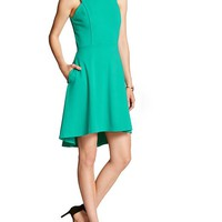 Banana Republic Womens Factory Fit And Flare Dress