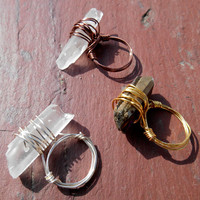 Quartz Wrapped Ring