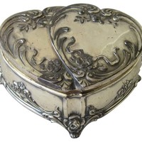 One Kings Lane - Heart-Shaped Trinket Box
