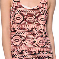Empyre Emily Coral & Black Tank Top