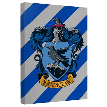 Harry Potter - Ravenclaw Crest Canvas Wall Art With Back Board