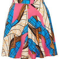 African Print Skater Skirt - New In This Week  - New In