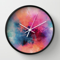 Temperature Wall Clock by Caleb Troy