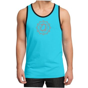 Yoga Clothing for You Mens Anahata Chakra Cotton Tank Top