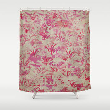 Cherry Blossom in Memory of Mackenzie Shower Curtain by Salted Seven