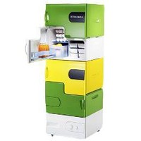Stackable Lego Fridges Thwart Thieving Roomates | Inhabitat - Green Design Will Save the World