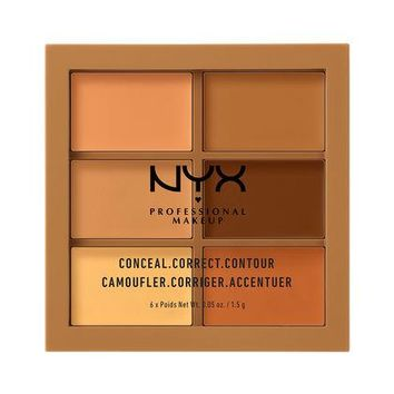 NYX Conceal, Correct, Contour Palette - Deep - #3CP03