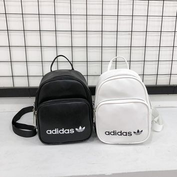 Small Leather Backpack Adidas Bag