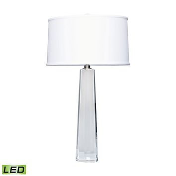 729-LED Crystal Faceted Column LED Table Lamp