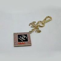Chanel Woman Fashion Plated Bag Ornaments Key Buckle