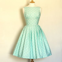 Polka Dot Tiffany Prom Dress