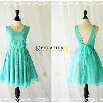 A Party V Charming Dress Aqua Blue Lace Party Dress Blue Lace Cocktail Prom Dress Lace Wedding Bridesmaid Dress Aqua Blue Dress XS-XL