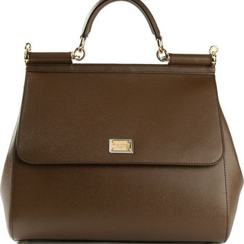 Dolce & Gabbana large 'Dauphine Sicily' tote
