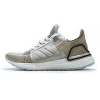 adidas Ultra Boost 2019 5.0 White Brown - Best Deal Online