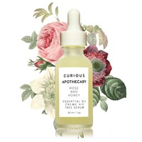 Rose and Honey Essential Oil Creme Vie Face Serum by Curious Apothecary
