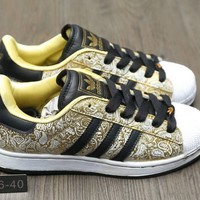 """""""Adidas Superstar 2W"""" Women Casual Fashion Print Shell Head Plate Shoes Sneakers"""
