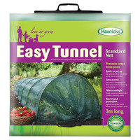 9.8' Easy Net Tunnel, Green, Gardening Tools & Markers