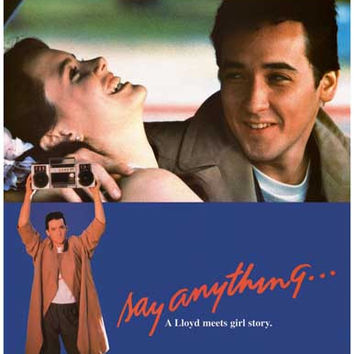Say Anything Movie Poster 11x17