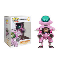 "Funko Overwatch Pop! Games D.Va With Meka 6"" Vinyl Figure"