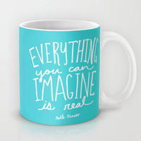 Picasso: Imagine Mug by Leah Flores | Society6