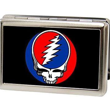 Buckle-Down Metal Wallet - Steal Your Face Fcg Black full Color Accessory