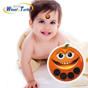 1Pcs ABS Forehead Sticker Baby Thermometers LCD Digital No Mercury Medical Children's Thermometer Fever Thermometer For Body