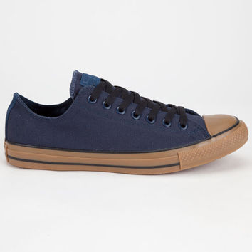 Converse Chuck Taylor All Star Low Gum Mens Shoes Navy  In Sizes