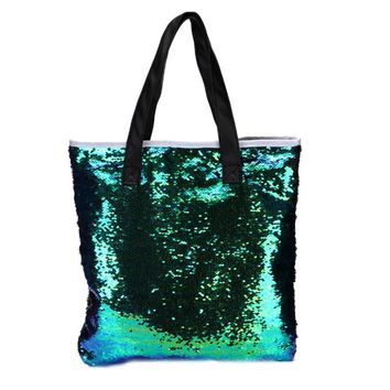 Xiniu Ladies Hand Bags Double Color Sequins Shoulder Bags
