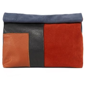 Patchwork Lunch Clutch