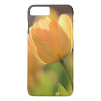 Beautiful yellow Tulip flower iPhone 7 Plus Case