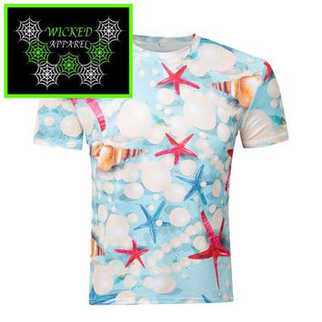 Wicked Apparel Seashell T-Shirt #451