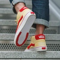 "Sole Classics x Vans Vault ""Lucky 13"" Old Skool Flats Shoes Sneakers Sport Shoes"