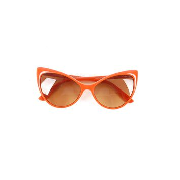 Tom Ford Orange Cat Eye Sunglasses