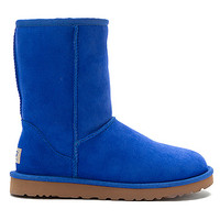 UGG® Australia Classic Short | Women's - Smooth Blue - FREE SHIPPING at OnlineShoes.com